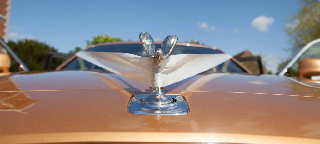 A premium Rolls Royce wedding car for hire