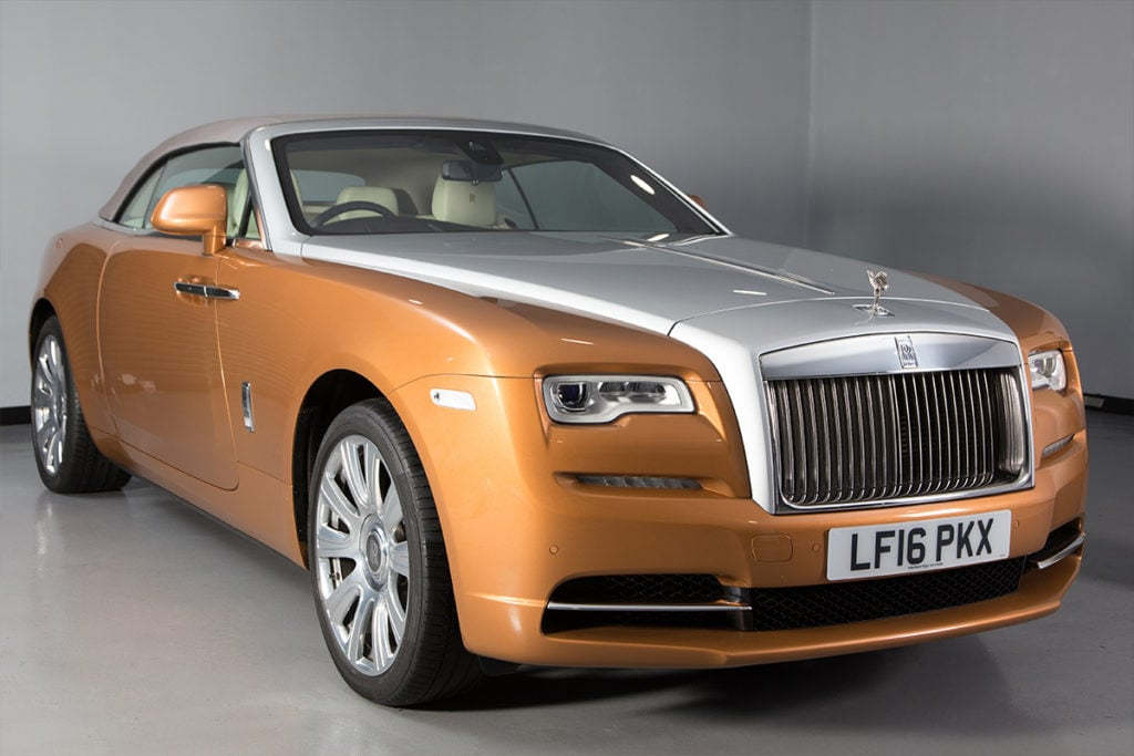 Rolls Royce Dawn Gold