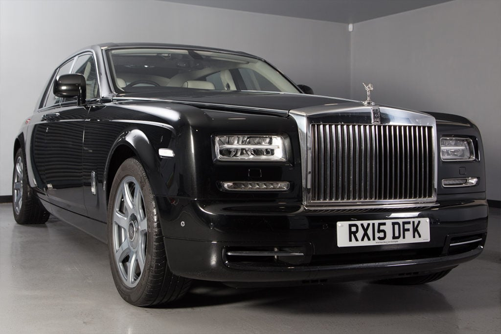 Rolls Royce Phantom Black