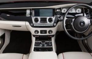 Rolls Royce Dawn Red Clock