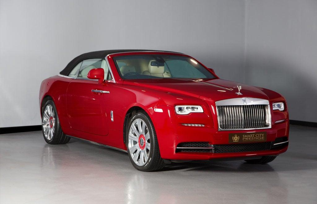 Rolls Royce Dawn Red