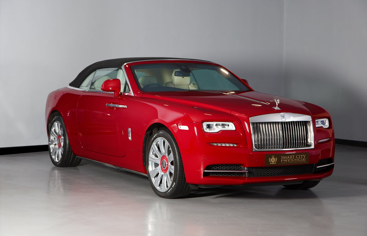 Rolls Royce Dawn Red Hire