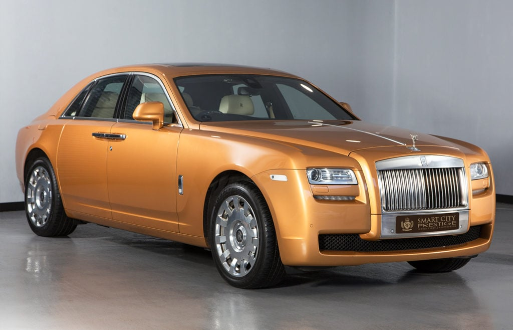 Rolls Royce Ghost Gold