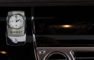Rolls Royce Ghost White Clock