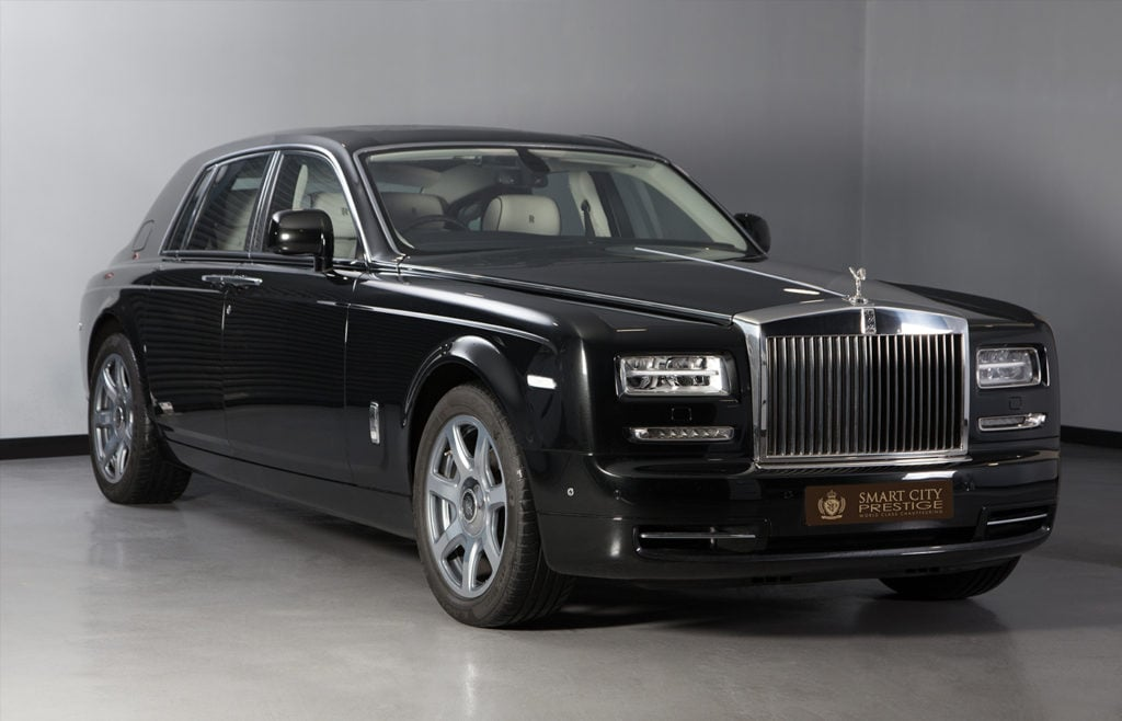 Rolls Royce Phantom Black Front