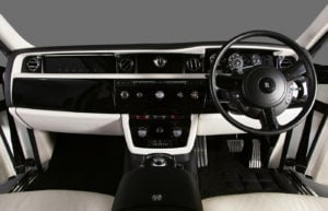 Rolls Royce Phantom White Dash