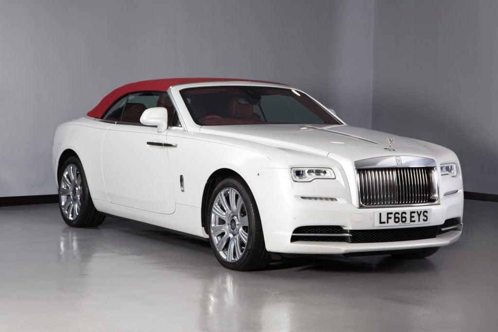 Rolls Royce Dawn White