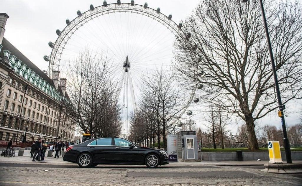 Mercedes S Class Chauffeur Hire