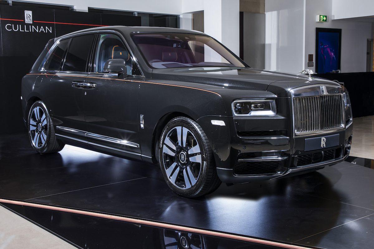 Rolls Royce Cullinan Hire