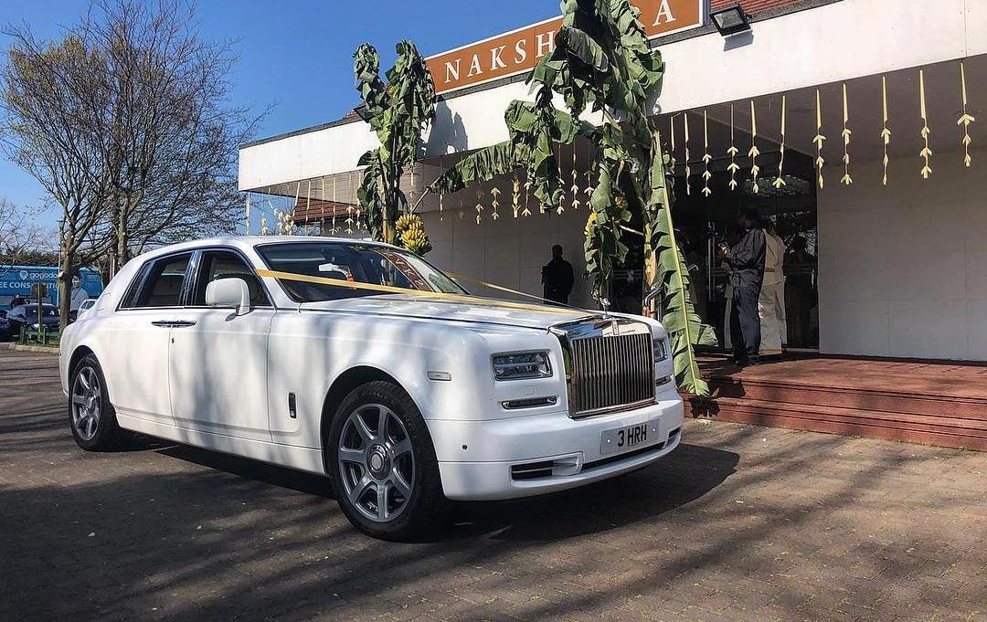 bespoke Rolls-Royce chauffeur service
