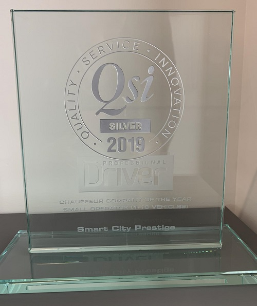 QSI - Chauffeur company of the year 2019
