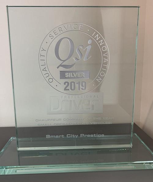 QSI - Chauffeur company of the year 2019