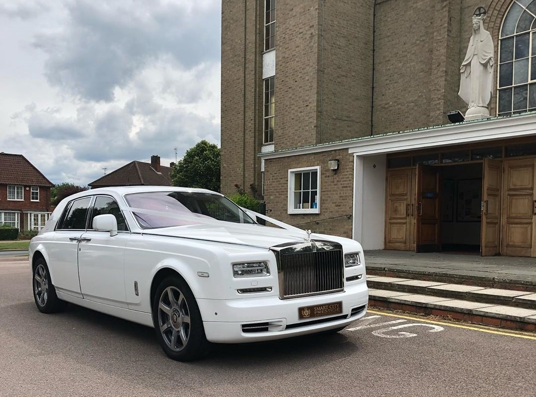Rolls Royce Phantom Wedding Hire