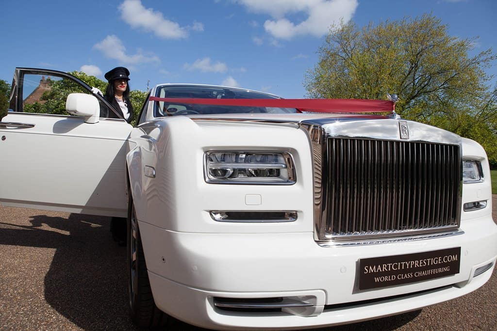 Rolls Royce Phantom II White