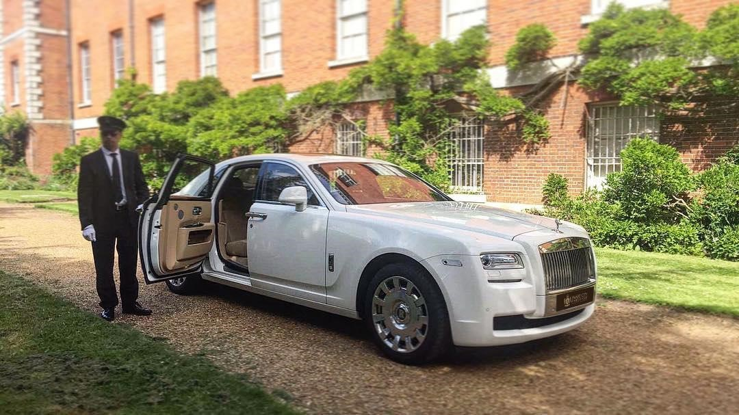 Rolls Royce Ghost Chauffeur Hire