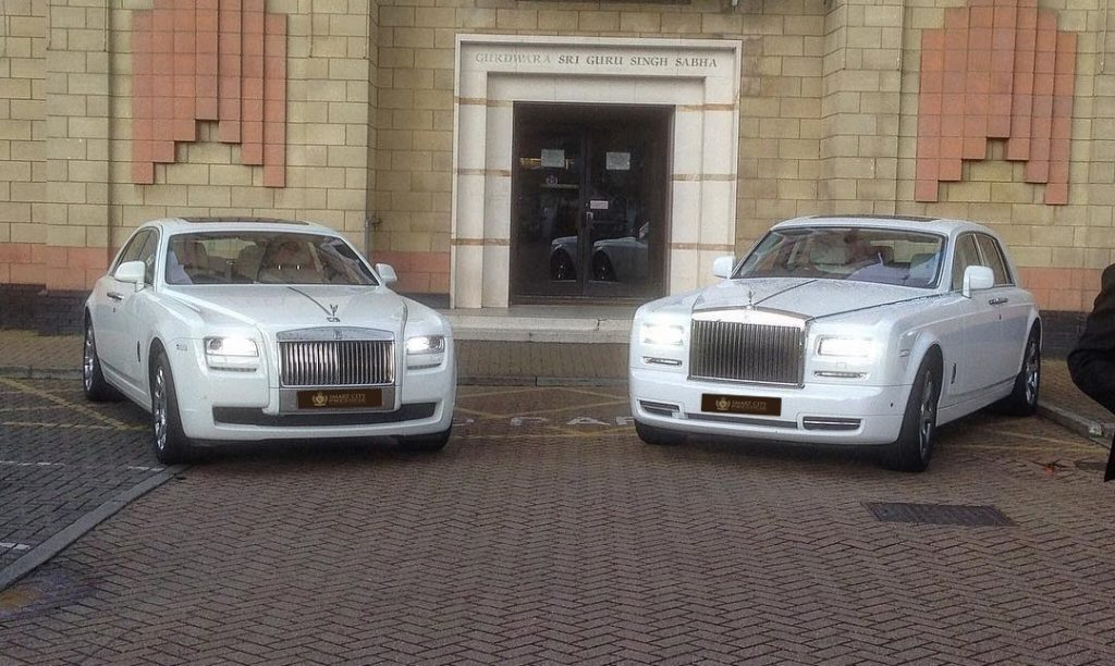 Phantom Ghost Or Cullinan Which Is The Best Rolls Royce Model For Your Dream Wedding Smart City Weddings