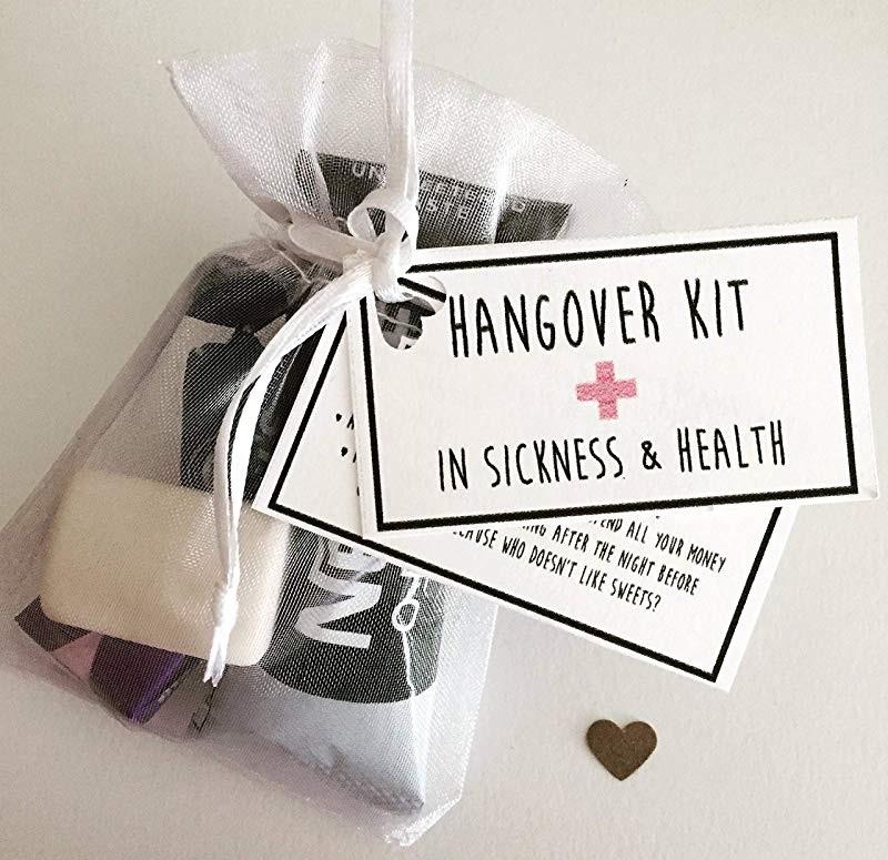 wedding hangover kit
